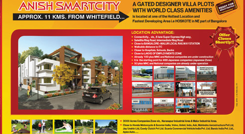 Anish Smartcity Luxury Villa Plots