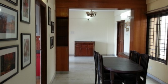 3 BHK for sale Semi Furnished. Built up area 1567 Sq.ft Hennur Road