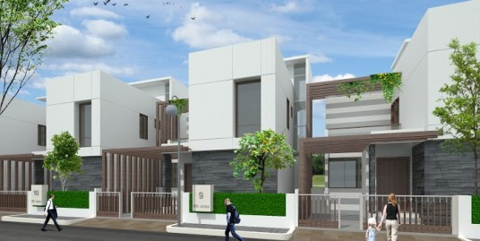 3 BHK Luxury villas at affordable prices