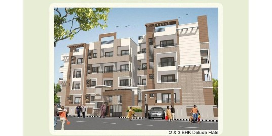 Ready to Occupy 2Bhk flat for sale in Nishta Residency.