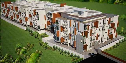 3 BHK East facing flat for sale