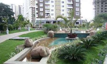 Semi Furnished flat for sale in salarpuria Greenage