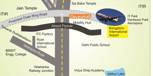 BIAAPA APPROVED PLOTS GATED COMMUNITY DEVANAHALLI