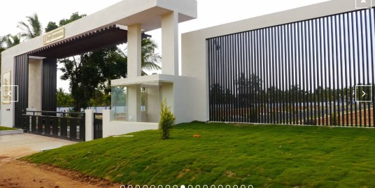 Villa Plot for Sale in Luxury Gated Community