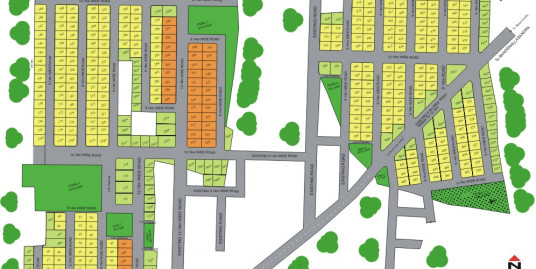 1200 sqft West Facing Plot for immediate sale in Madhumitra Estate