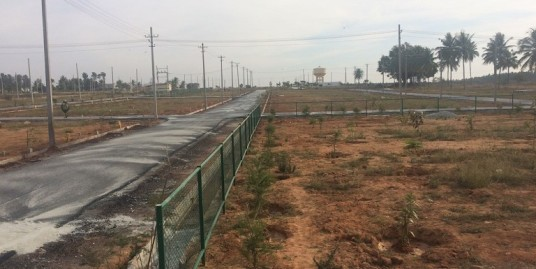 biaapa sites crs enclave layout near chikkajala before international airport