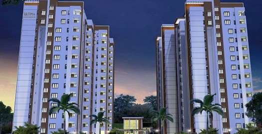 2 BHK Apartments for sales, Manyata Tech Park Gate No.5, Rachenahalli Main Road.