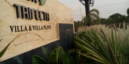 Luxury Villa plots at NBR Trifecta in Sarjapur road for Rs.1500 sq ft