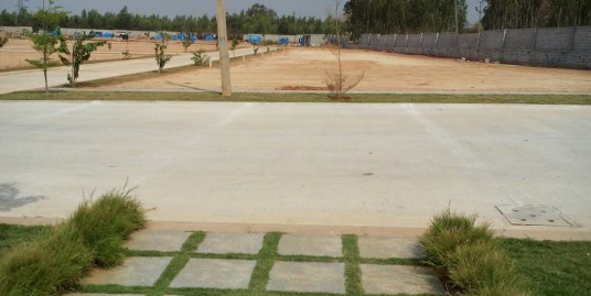 Luxury Villa plots at NBR Trifecta in Sarjapur road for Rs.1500/-sq. ft