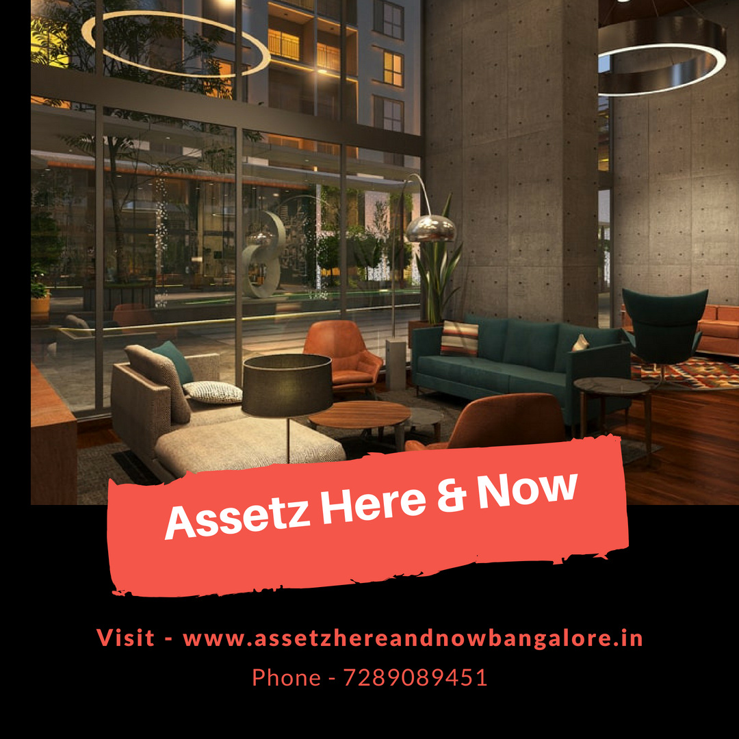 Assetz Here and Now Floor Plan Residential Property sell in Bangalore