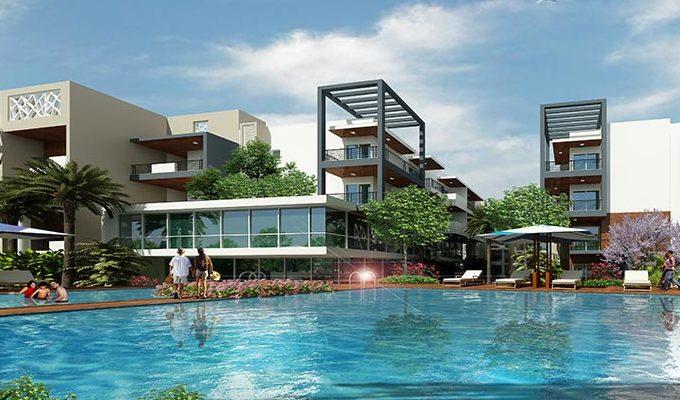 3 side open prime 3BHK flat in Saibya Senary off Hosa Road