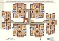 Keerthi Chalet - Proposed Floor plan