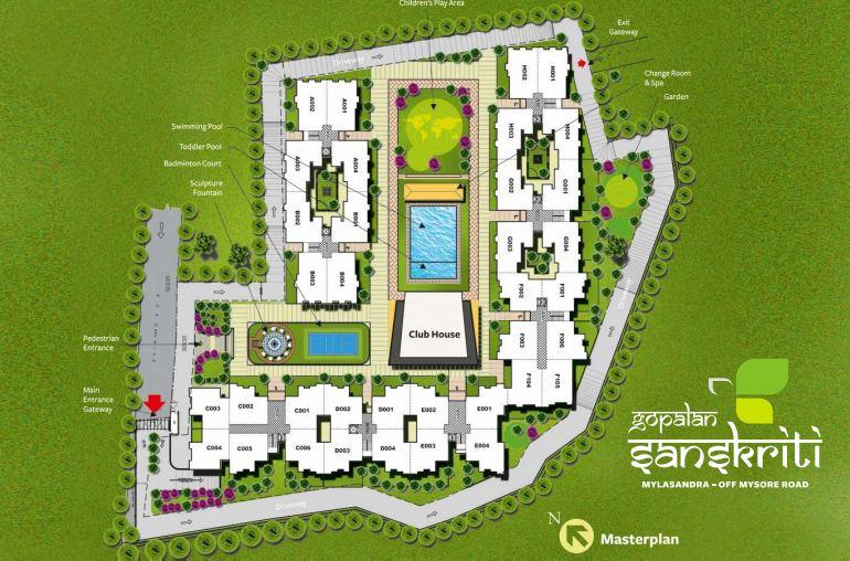 Gopalan Sanskriti Master Plan