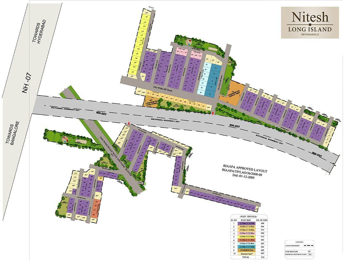 Nitesh-Long-Island-Siteplan