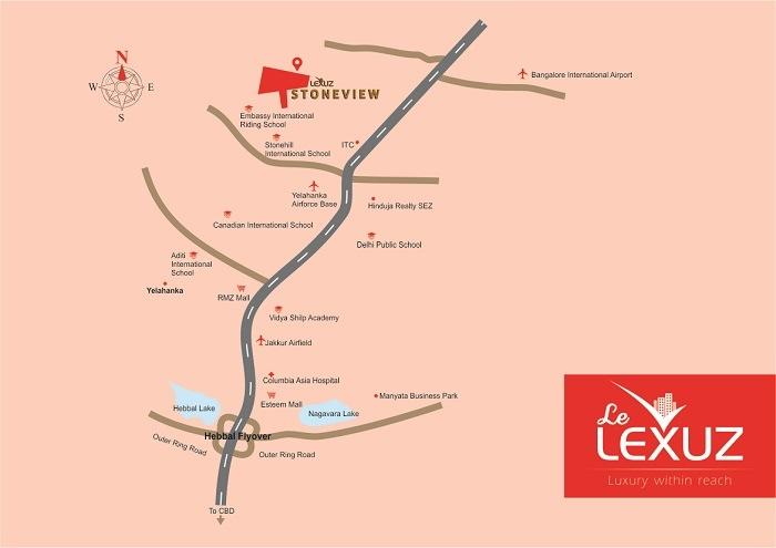 Le Lexuz Stoneview Location