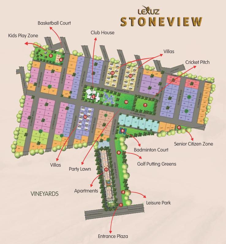 Le Lexuz Stoneview Masterplan