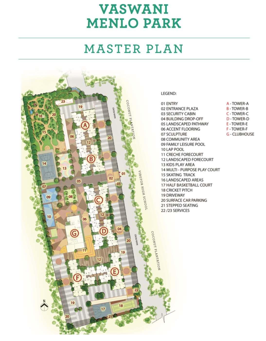 Vaswani Menlo Park Master Plan